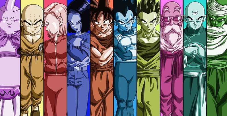 Comprar figuras de acción Dragon Ball Super