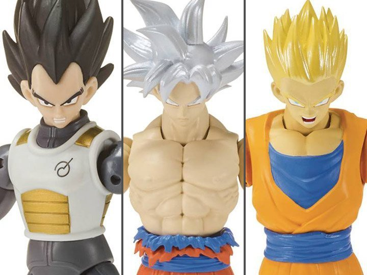 figuras de acción dragon ball