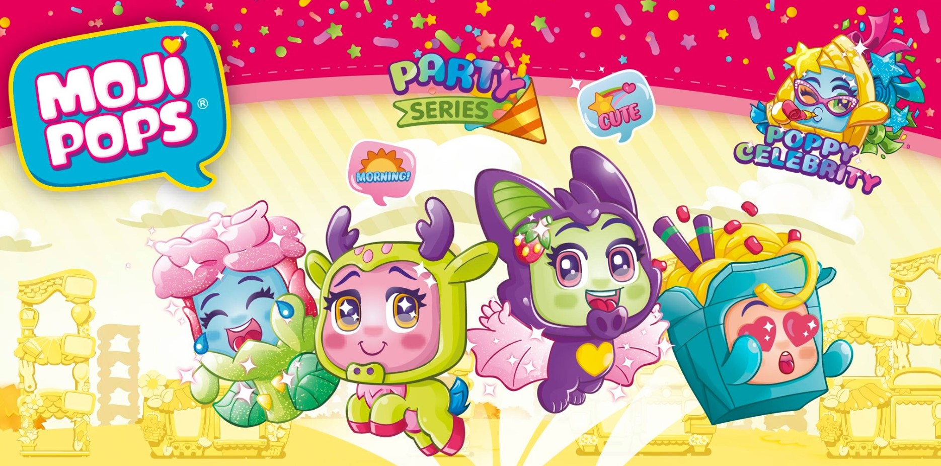 Mojipops Party Series 2