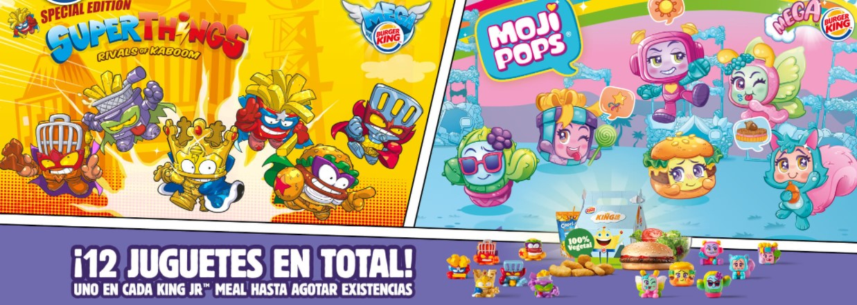 Superthings y Mojipops Burger King